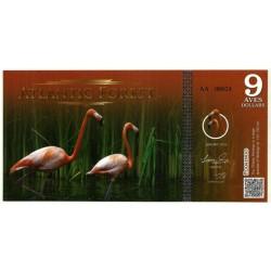 Atlantic Forest. 2015. 9 Aves Dollars (SC)