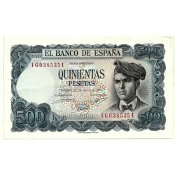 [1971] Billete de 500 Pesetas (EBC) Serie 1G