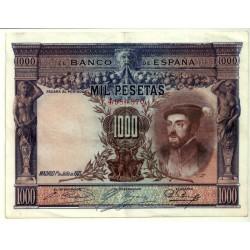 [1925] Billete de 1000 Pesetas (MBC) Sin Serie