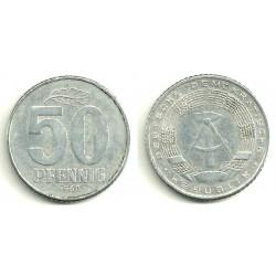 (12.2) Alemania Democrática. 1968(A). 50 Pfennig (MBC)