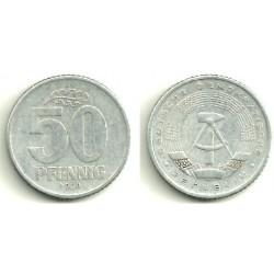 Alemania Democrática. 1958(A). 50 Pfennig (BC)