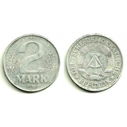 Alemania Democrática. 1974(A). 2 Mark (EBC)