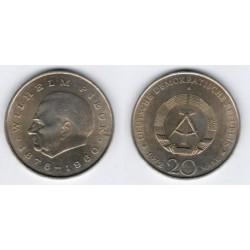 (42) Alemania Democrática. 1972(A). 20 Mark (MBC)