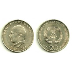 (34) Alemania Democrática. 1971(A). 20 Mark (EBC)