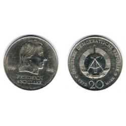 (40) Alemania Democrática. 1972(A). 20 Mark (MBC)