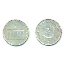 (29) Alemania Democrática. 1971(A). 5 Mark (MBC)