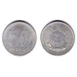 (12.1) Alemania Democrática. 1958(A). 50 Pfennig (MBC)