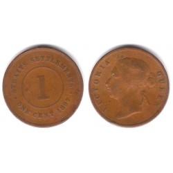 Straits Settlements. 1897. 1 Cent (BC-)