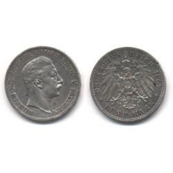 (523) Estados Alemanes (Prussia). 1907(A). 5 Mark (EBC)