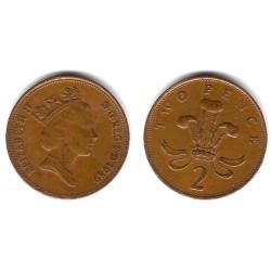 (936) Gran Bretaña. 1989. 2 Pence (BC)