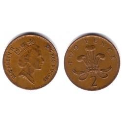 (936) Gran Bretaña. 1988. 2 Pence (MBC)