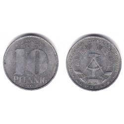 (10) Alemania Democrática. 1973(A). 10 Pfennig (MBC)