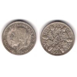 (832) Gran Bretaña. 1932. 6 Pence (BC) (Plata)
