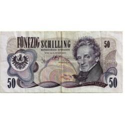 (143) Austria. 1970. 50 Schilling (BC)
