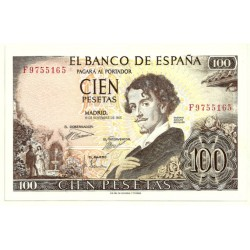 [1965] Billete de 100 Pesetas (EBC+) Serie F