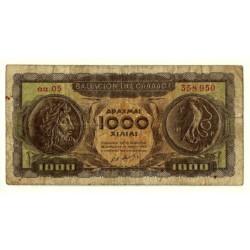 (326a) Grecia. 1950. 1000 Drachma (BC+)
