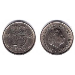 (183) Paises Bajos. 1964. 25 Cents (MBC)