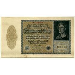 (72) Imperio Alemán (WEIMAR). 1922. 10000 Mark (EBC+)