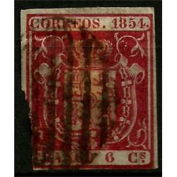 (24) 1854. 6 Cuartos. Rotura