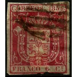 (24) 1854. 6 Cuartos