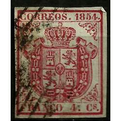 (33) 1854. 4 Cuartos