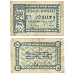 Angles [1937] Billete de 25 Cèntims (RC)