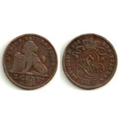 (36) Belgica. 1905. 2 Centimes (MBC)