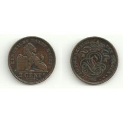 (36) Belgica. 1902. 2 Centimes (MBC)