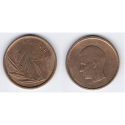 (159) Belgica. 1981. 20 Francs (BC)