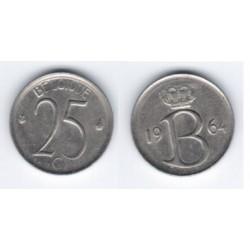 (153.1) Belgica. 1964. 25 Centimes (MBC)