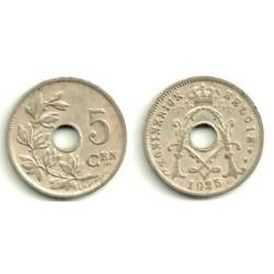 Belgica. 1925. 5 Centimes (MBC)