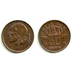 (148.1) Belgica. 1978. 50 Centimes (EBC)