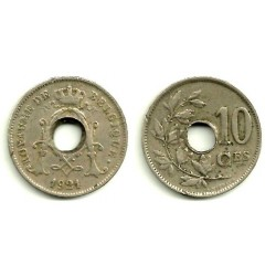 (85.1) Belgica. 1921. 10 Centimes (BC)