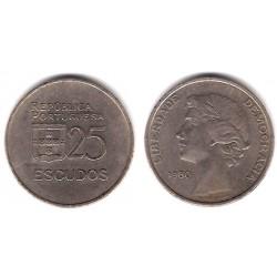 (607a) Portugal. 1980. 25 Escudos (MBC-)