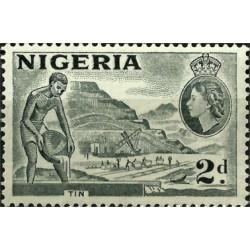 Nigeria. 1954. 2 Pound. Tin