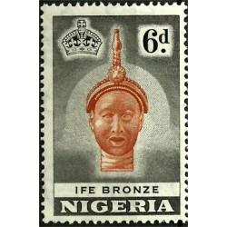 Nigeria. 6 Pound. Ife Bronze