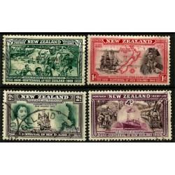 Nueva Zelanda. 1940. Serie Mini. Centenario de Nueva Zelanda