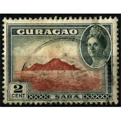 Curasao. 1943. 2 Cents. Saba