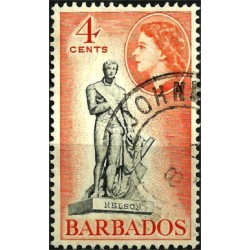 Barbados. 4 Cents. Nelson