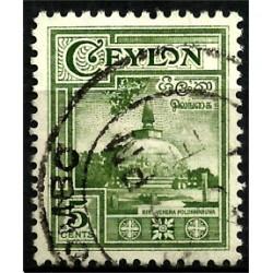 Ceylon Británica. 5 Cents