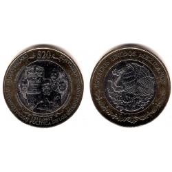 Estados Unidos Mexicanos. 2017. 20 Pesos (SC)