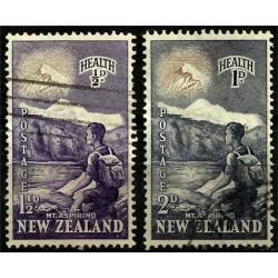 Nueva Zelanda. 1954. Serie Completa. Health