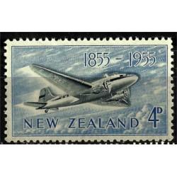 Nueva Zelanda. 1955. 4 Pound. 1855 - 1955