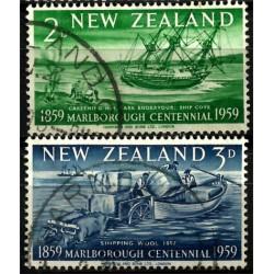 Nueva Zelanda. 1959. Serie mini. Marlboroug Centennial