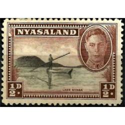 Nyasaland. 1943. ½ Pound. Lake Nyasa
