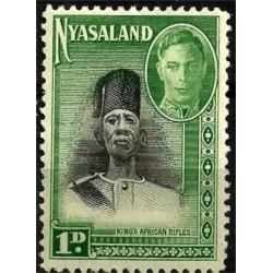 Nyasaland. 1945. 1 Pound. King African Rifles