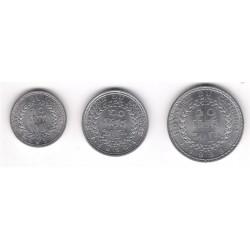 (54 a 56) Camboya. 1959. Serie Completa 10, 20 y 50 Sen (SC)