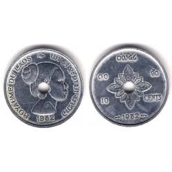 (4) Laos. 1952. 10 Cents (MBC)