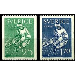 Suecia. 1963. Serie mini. VM 1963 Hockey sobre hielo