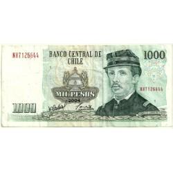 (154f) Chile. 2004. 1000 Pesos (MBC-)